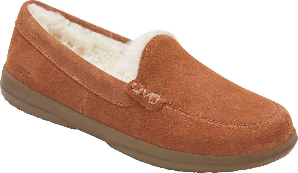 Women's Vionic Lynez Slipper, Toffee Suede, large, image 1
