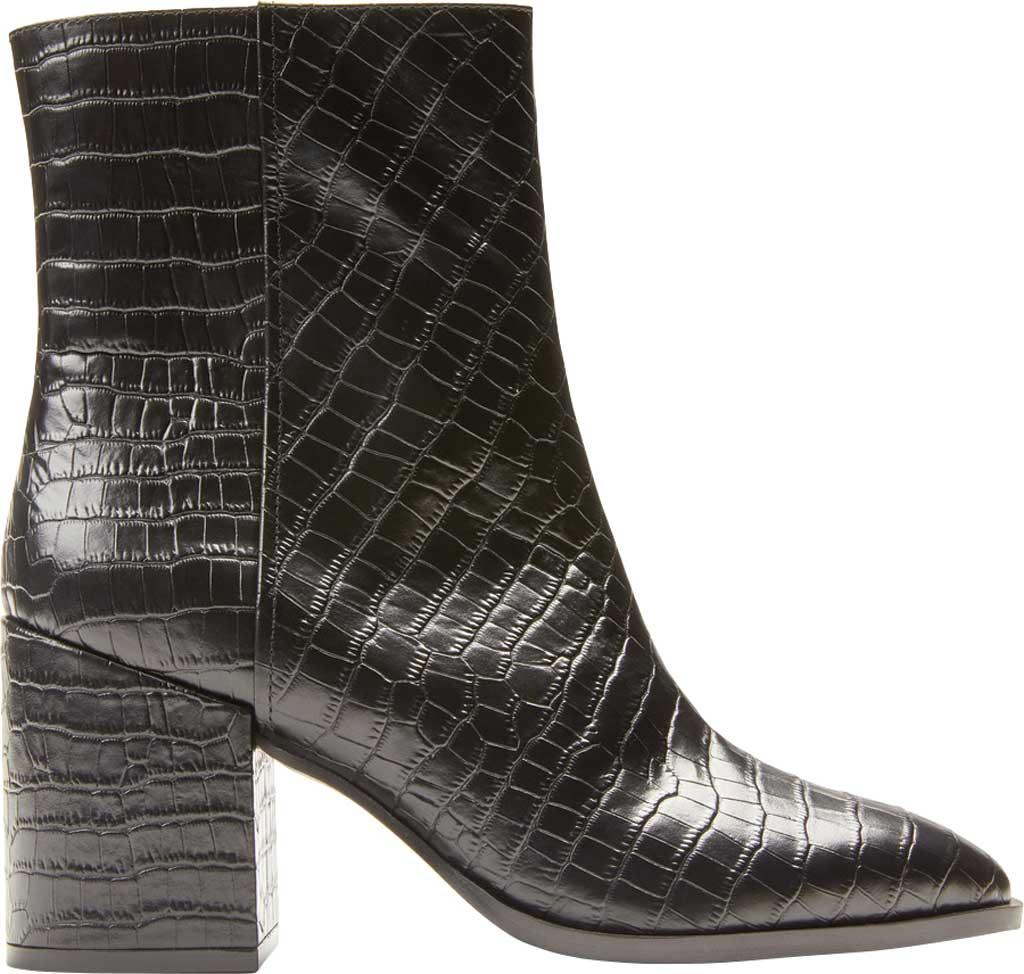 Women's Vionic Harper Ankle Bootie, Black Croc Leather, large, image 2