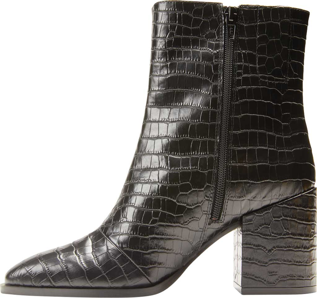 Women's Vionic Harper Ankle Bootie, Black Croc Leather, large, image 3