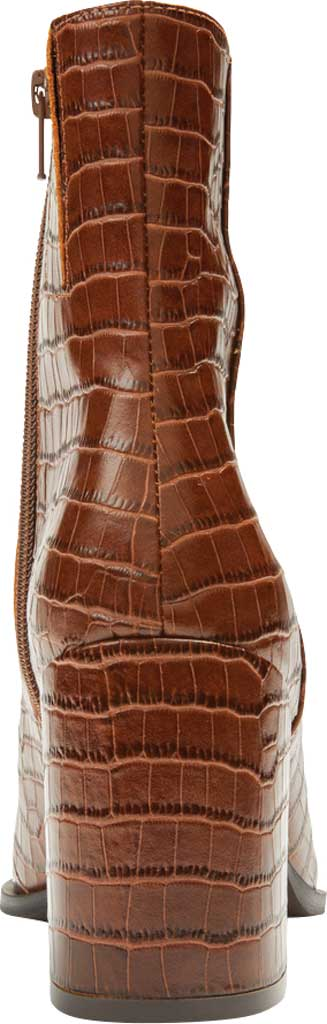 Women's Vionic Harper Ankle Bootie, Brown Croc Leather, large, image 4