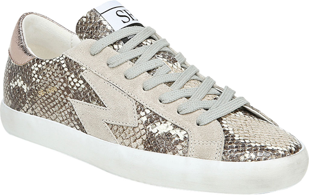 Women's Sam Edelman Areson Sneaker, Truffle Snake Leather, large, image 1