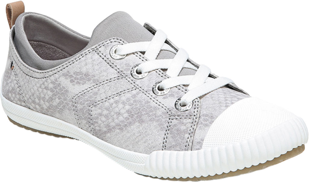 Women's Dr. Scholl's Jam Session Sneaker, Soft Grey Snake Fabric, large, image 1
