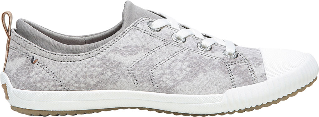 Women's Dr. Scholl's Jam Session Sneaker, Soft Grey Snake Fabric, large, image 2