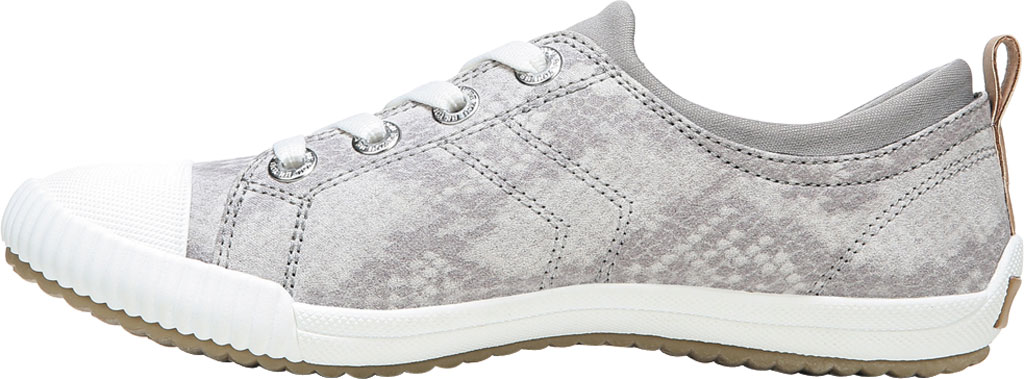 Women's Dr. Scholl's Jam Session Sneaker, Soft Grey Snake Fabric, large, image 3