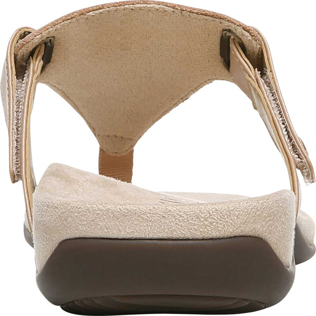 Women's Vionic Wanda T Strap Thong Sandal, Macaroon Smooth Leather, large, image 4
