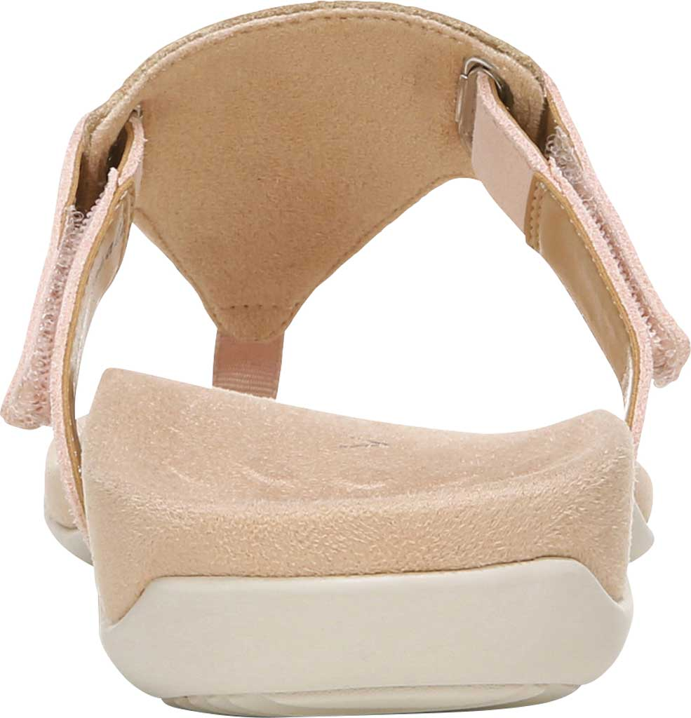 Women's Vionic Wanda T Strap Thong Sandal, Pale Blush Embossed Snake Leather, large, image 4