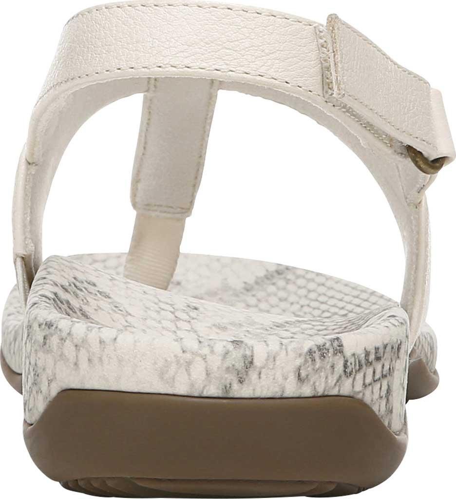 Women's Vionic Tala T Strap Thong Sandal, Cream Nappa Leather, large, image 4