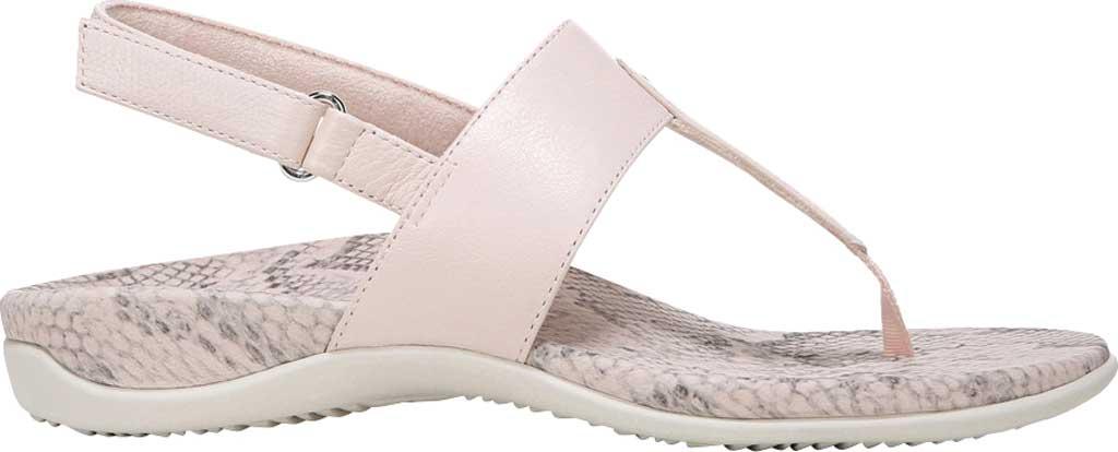 Women's Vionic Tala T Strap Thong Sandal, Pale Blush Nappa Leather, large, image 2