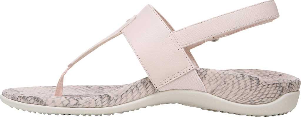 Women's Vionic Tala T Strap Thong Sandal, Pale Blush Nappa Leather, large, image 3