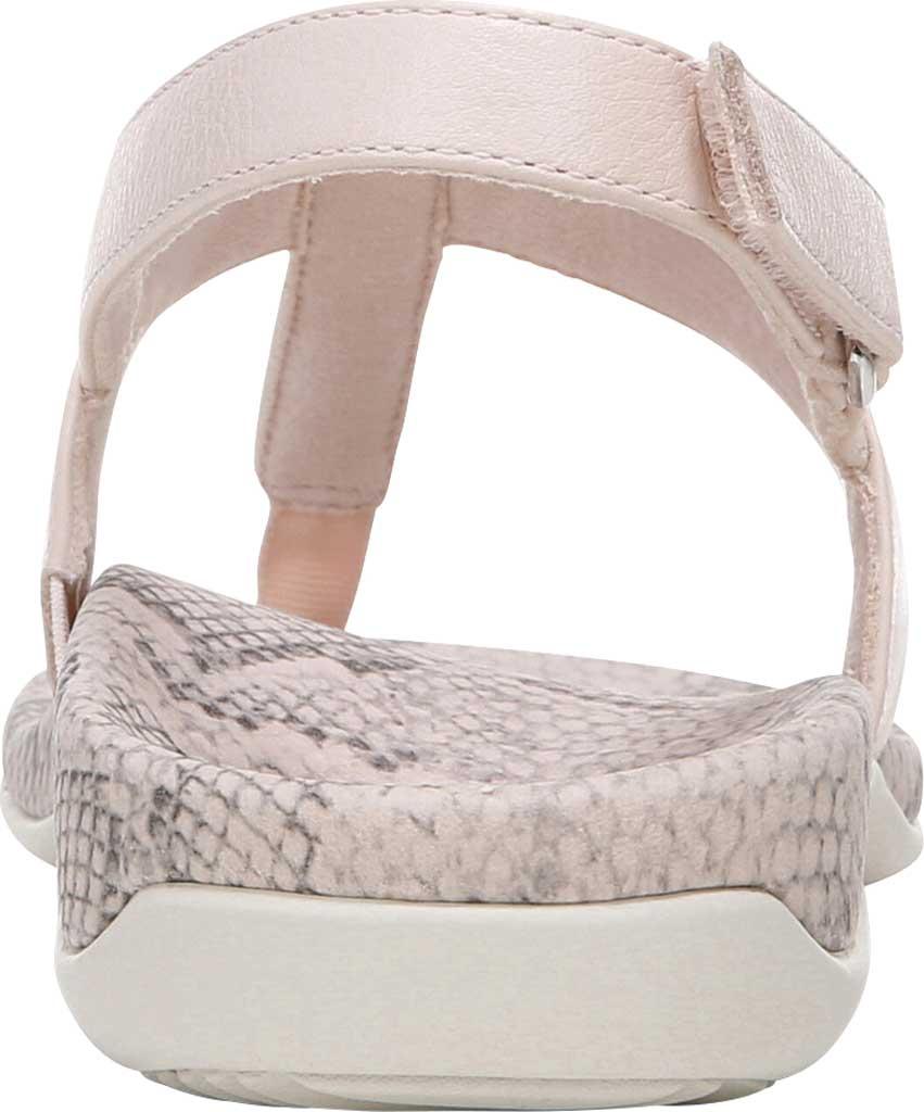 Women's Vionic Tala T Strap Thong Sandal, Pale Blush Nappa Leather, large, image 4