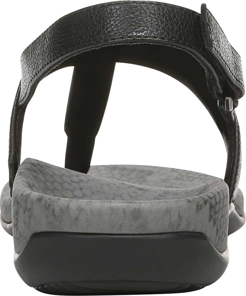 Women's Vionic Tala T Strap Thong Sandal, Black Nappa Leather, large, image 4