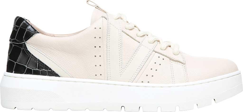 Women's Vionic Simasa Sneaker, Cream Croco Leather, large, image 2