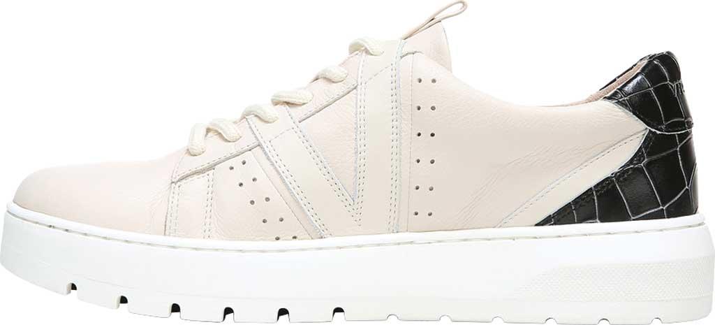 Women's Vionic Simasa Sneaker, Cream Croco Leather, large, image 3
