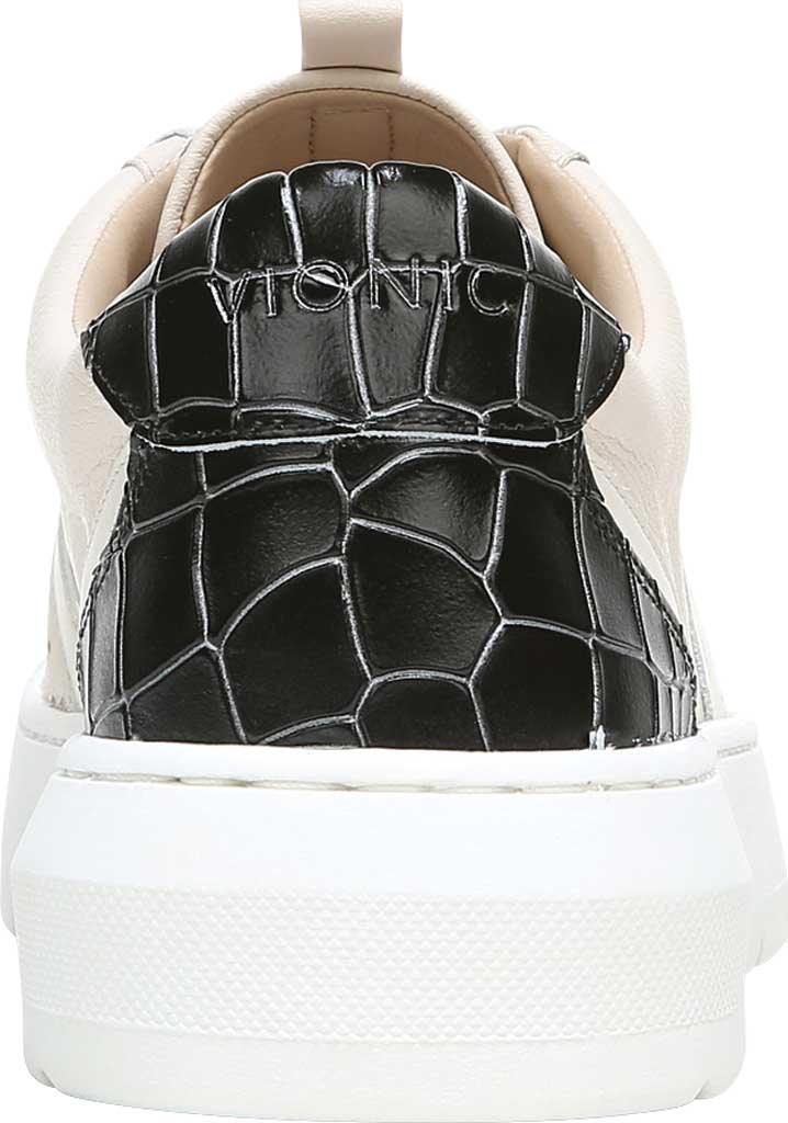 Women's Vionic Simasa Sneaker, Cream Croco Leather, large, image 4