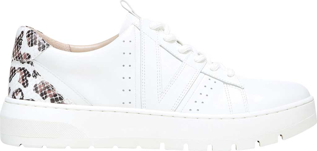 Women's Vionic Simasa Sneaker, White Leopard/Snake Print Leather, large, image 2