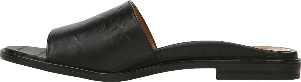 Women's Vionic Demi Slide, Black Crinkle Croco Leather, large, image 3