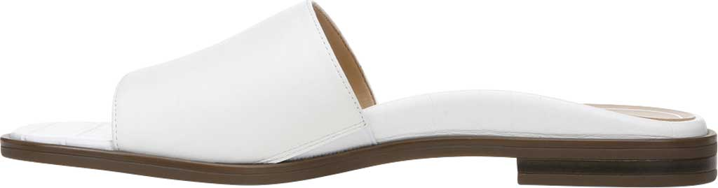 Women's Vionic Demi Slide, White Crinkle Croco Leather, large, image 3