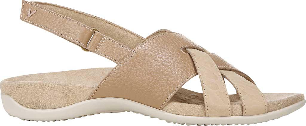 Women's Vionic Eira Strappy Sandal, Cream Tumbled Leather, large, image 2