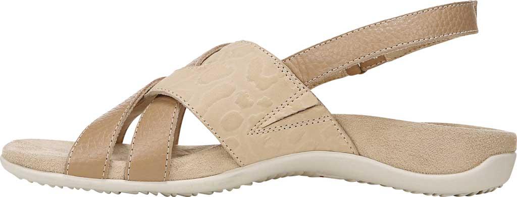 Women's Vionic Eira Strappy Sandal, Cream Tumbled Leather, large, image 3