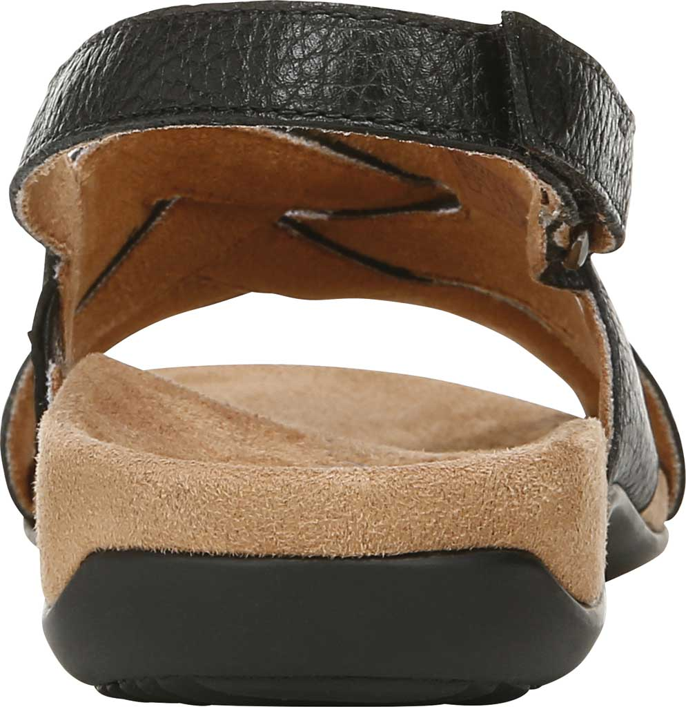 Women's Vionic Eira Strappy Sandal, Black Tumbled Leather, large, image 3