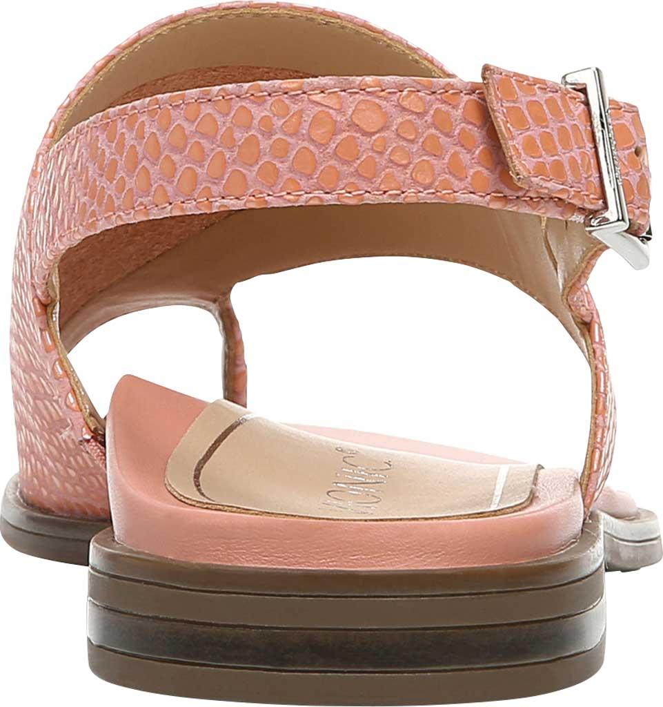 Women's Vionic Ella Toe Loop Sandal, Blooming Dahlia Lizard Print Leather, large, image 4