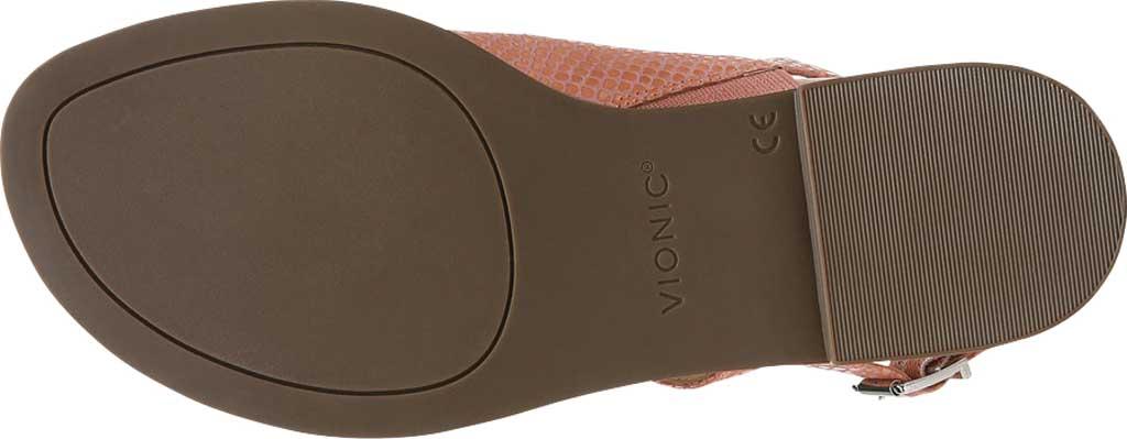 Women's Vionic Ella Toe Loop Sandal, Blooming Dahlia Lizard Print Leather, large, image 6