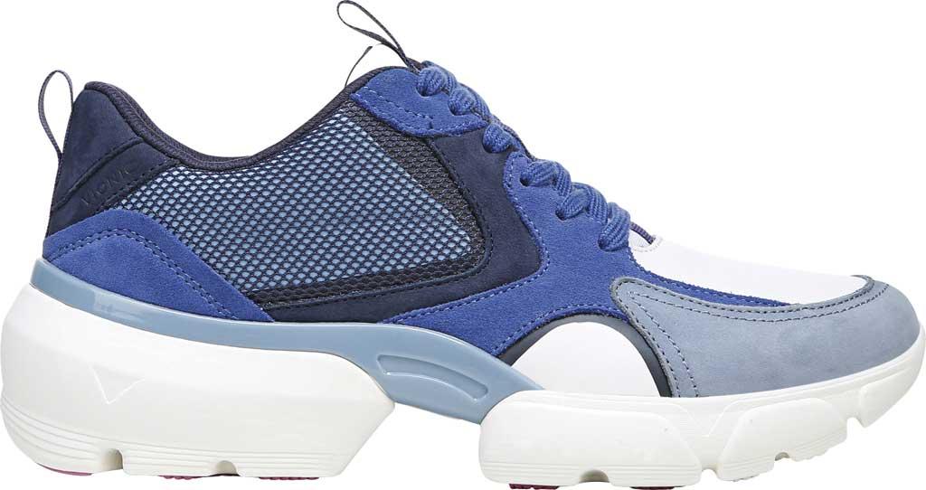 Women's Vionic Aris Sneaker, Indigo Leather/Suede, large, image 2