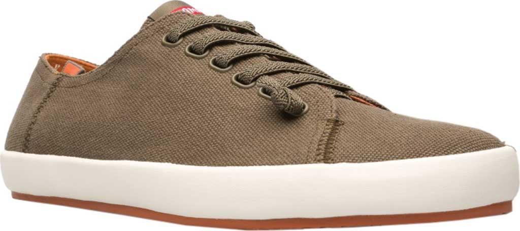 Men's Camper Peu Rambla Sneaker, Dark Green Natural Cotton, large, image 1