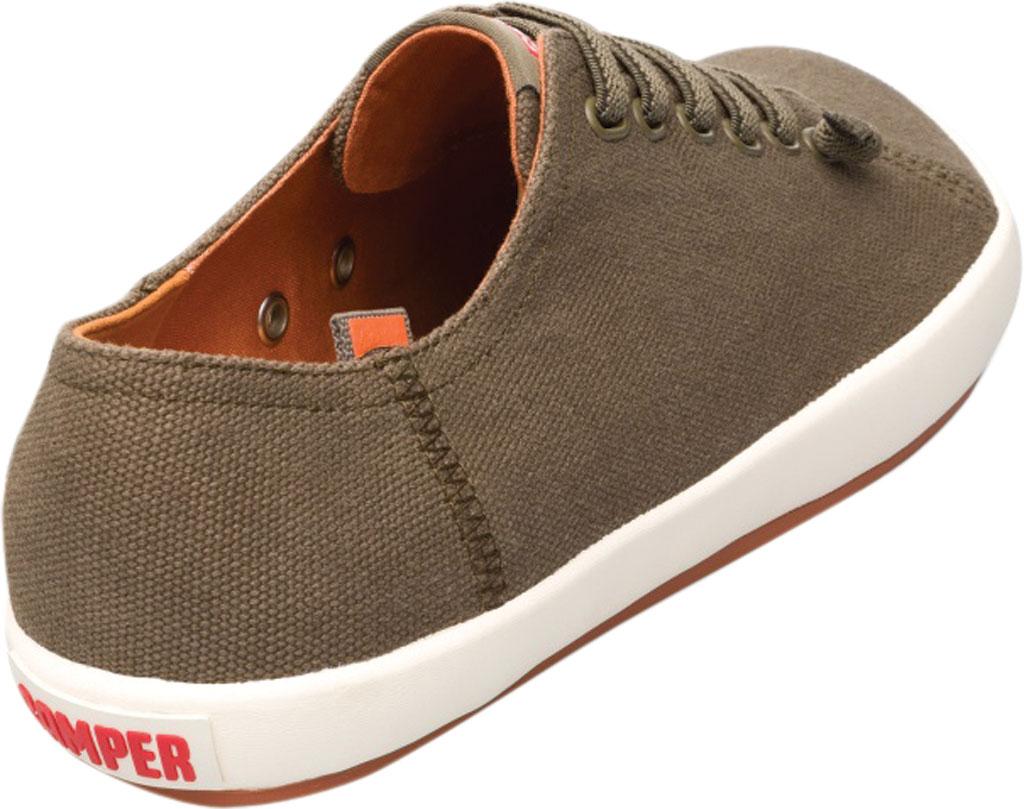 Men's Camper Peu Rambla Sneaker, Dark Green Natural Cotton, large, image 3