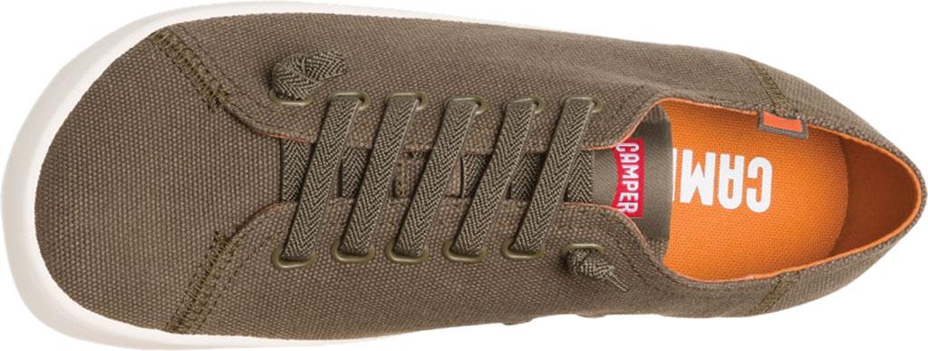 Men's Camper Peu Rambla Sneaker, Dark Green Natural Cotton, large, image 4