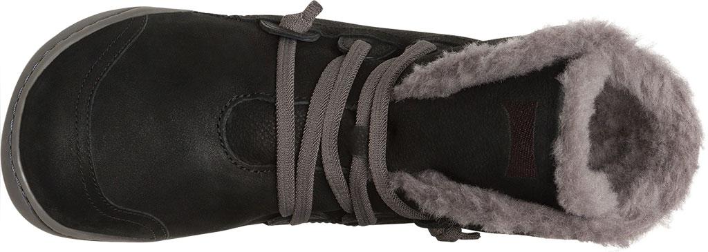 Women's Camper Peu Cami Boot, Black/Grey Nubuck, large, image 4