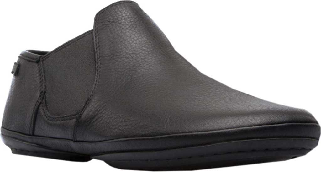 Women's Camper Right Nina Bootie, Black Textured Leather, large, image 1