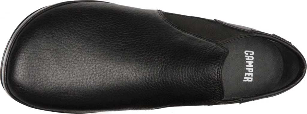 Women's Camper Right Nina Bootie, Black Textured Leather, large, image 2