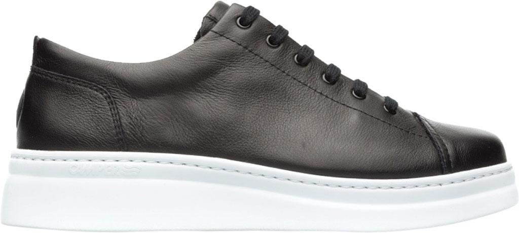 Women's Camper Runner Up Sneaker, Black/White Full Grain Leather, large, image 2