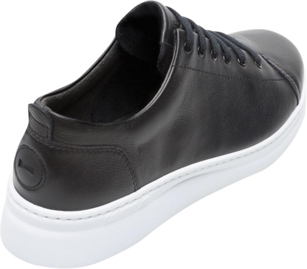 Women's Camper Runner Up Sneaker, Black/White Full Grain Leather, large, image 3