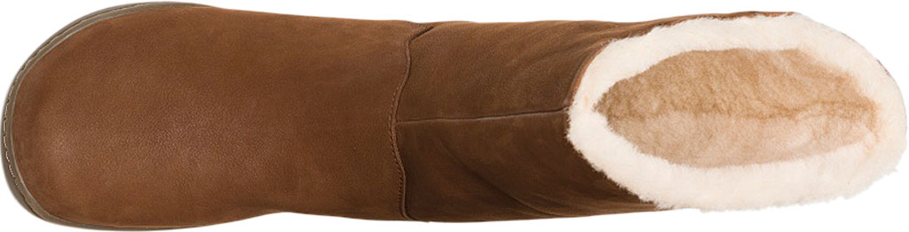 Women's Camper Peu Cami Mid Calf Boot, Medium Brown Leather, large, image 4