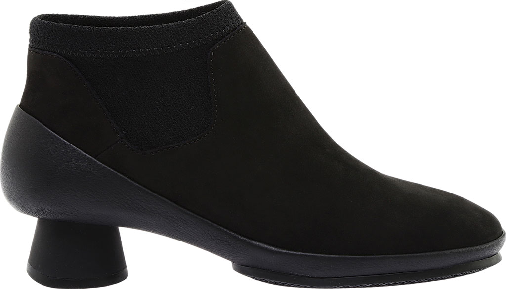 Women's Camper Alright Ankle Boot, Black Leather/Elastic Fabric, large, image 2