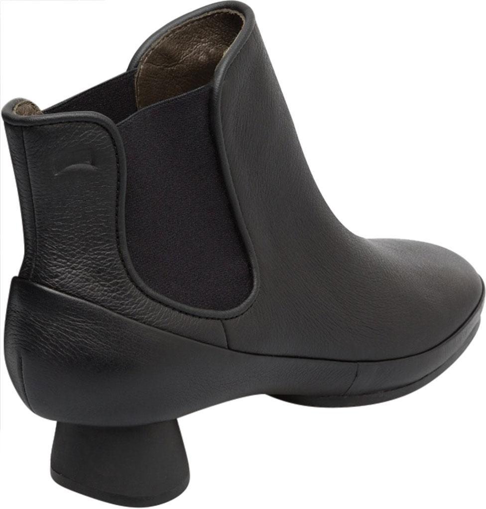 Women's Camper Alright Ankle Boot, Black Calfskin, large, image 2