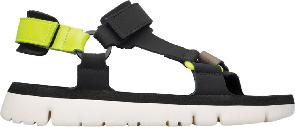 Men's Camper Oruga Sport Sandal, Black/Multi Full Grain Leather, large, image 2