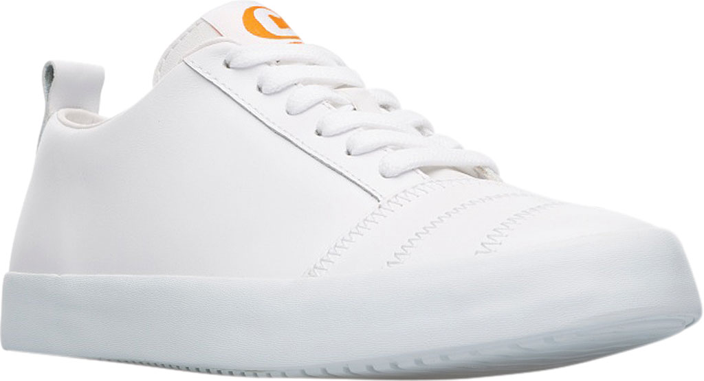 Women's Camper Imar Copa Sneaker, White Natural Leather, large, image 1