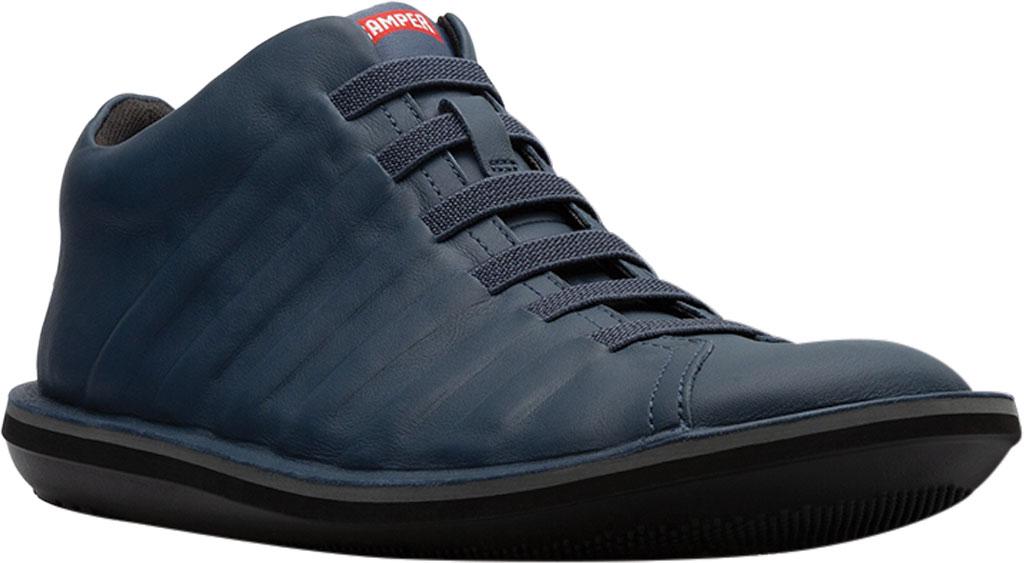 Men's Camper Beetle Ankle Boot, Blue Calfskin, large, image 1