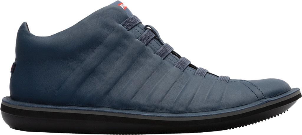 Men's Camper Beetle Ankle Boot, Blue Calfskin, large, image 2