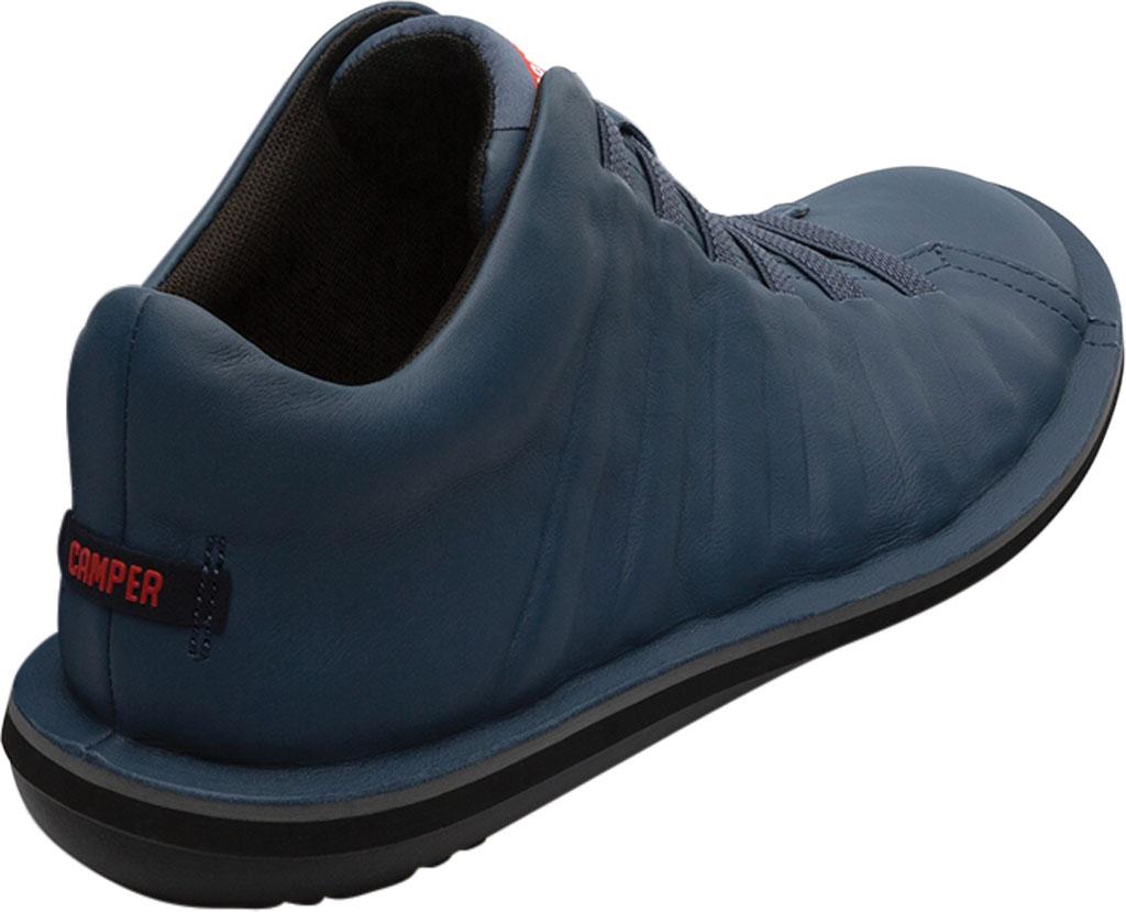 Men's Camper Beetle Ankle Boot, Blue Calfskin, large, image 3