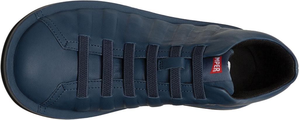 Men's Camper Beetle Ankle Boot, Blue Calfskin, large, image 4