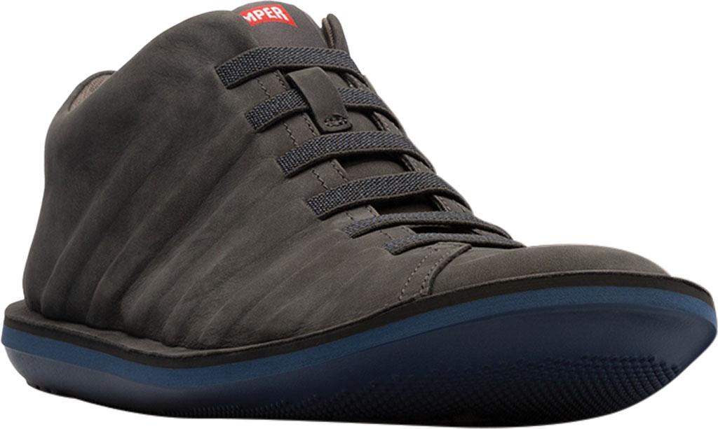Men's Camper Beetle Ankle Boot, Dark Grey Nubuck, large, image 1