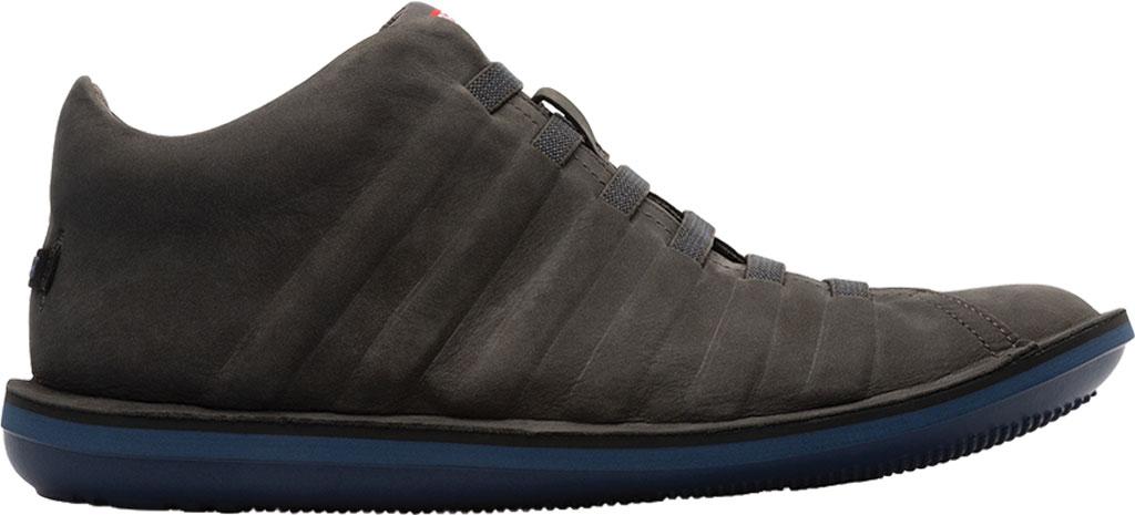 Men's Camper Beetle Ankle Boot, Dark Grey Nubuck, large, image 2
