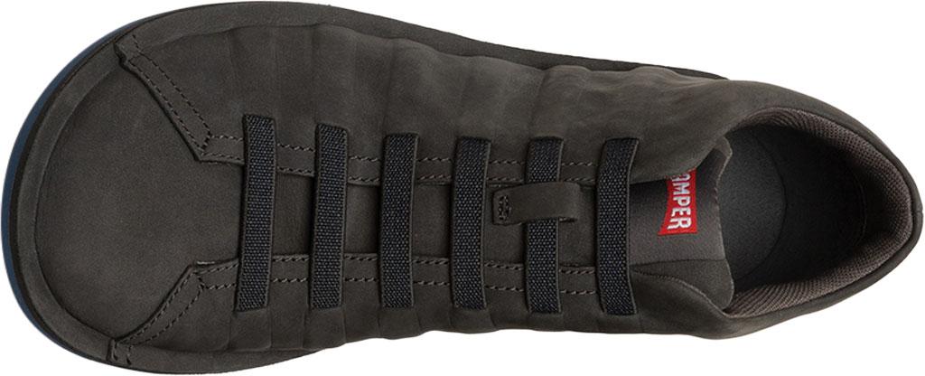 Men's Camper Beetle Ankle Boot, Dark Grey Nubuck, large, image 4