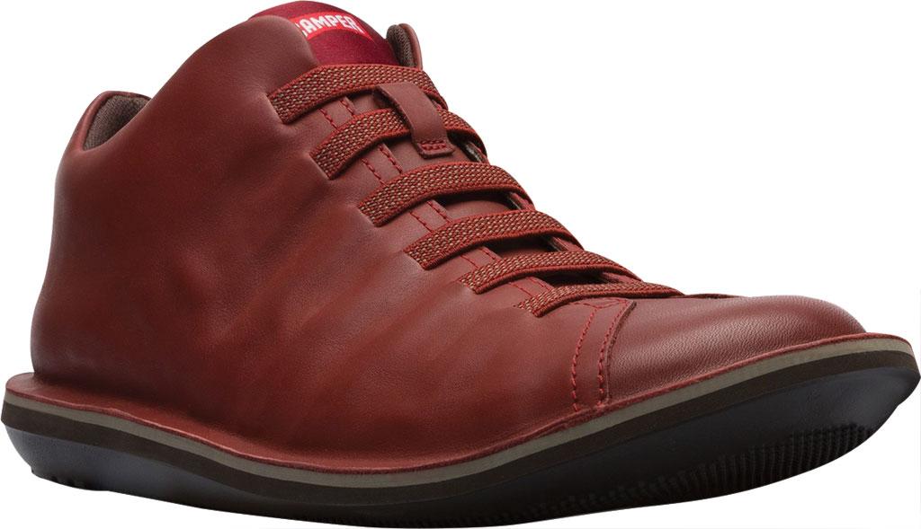 Men's Camper Beetle Ankle Boot, Red Brown Calfskin, large, image 1