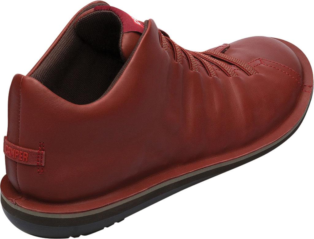 Men's Camper Beetle Ankle Boot, Red Brown Calfskin, large, image 3