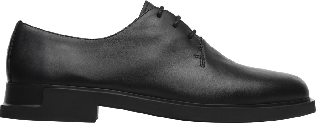 Women's Camper Iman Oxford, Black Smooth Leather, large, image 2